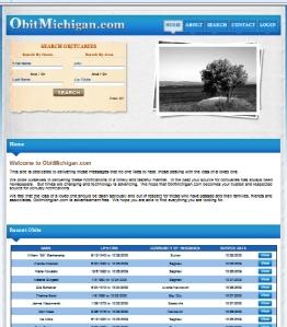 Obit Michigan