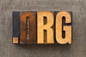 nonprofit organization internet  domain