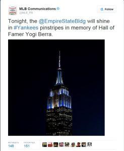 Empire tweet