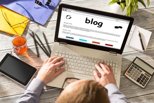 Blog Weblog Media Digital Dictionary Online Concept