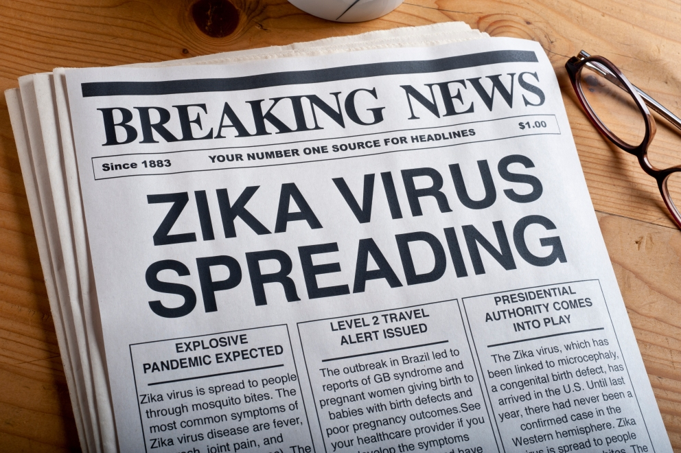 ZIKA virus headlines