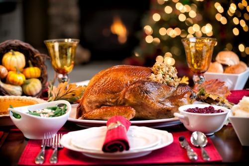 Thanksgiving Elegant Holiday Turkey Dinner