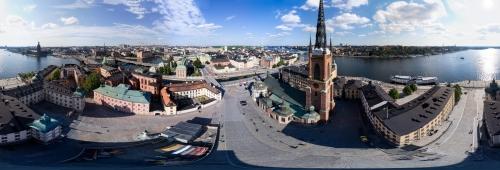 Stockholm Riddarholmen 360 degree Panorama