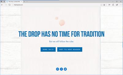 The Drop website